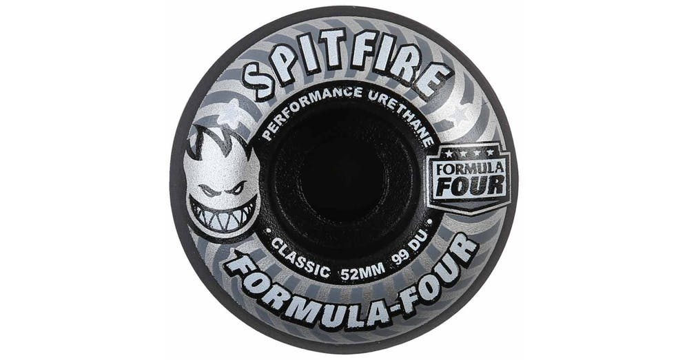 Spitfire Skateboard Wheels F4 Formula 4 Shadowplay 52mm 99d Four FREE POST