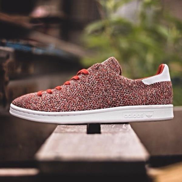 2ea7bf73068 Buy adidas stan smith primeknit mens red   OFF57% Discounted