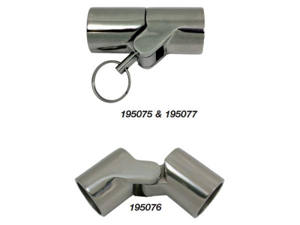 Marine town canopy tube hinge s mm with pin