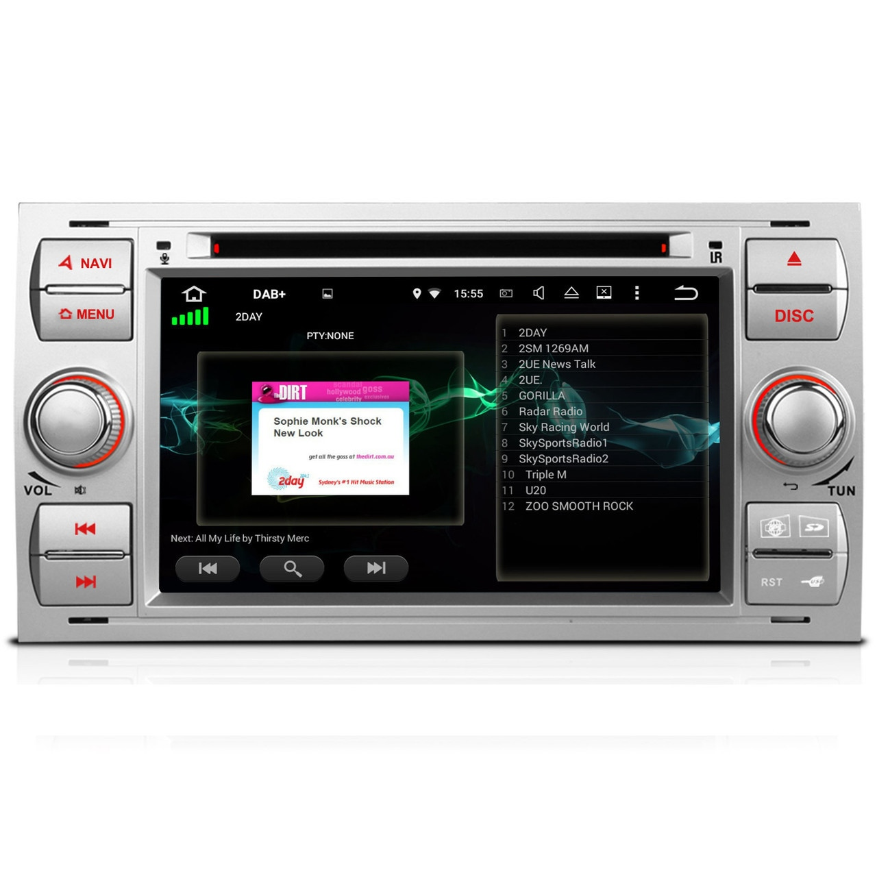 ford kuga galaxy android 5 1 headunit radio stereo. Black Bedroom Furniture Sets. Home Design Ideas