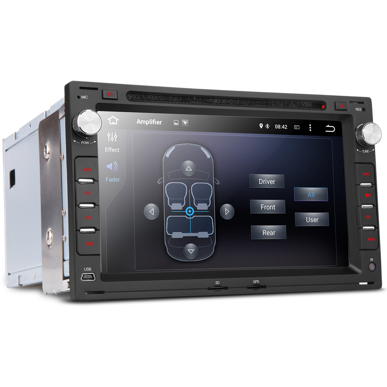 vw golf mk4 passat mk5 android 5 1 head unit radio stereo. Black Bedroom Furniture Sets. Home Design Ideas