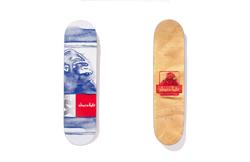 Chocolate Skateboards x XLarge Clothing X-Late Deck 8 FREE GRIP and POST