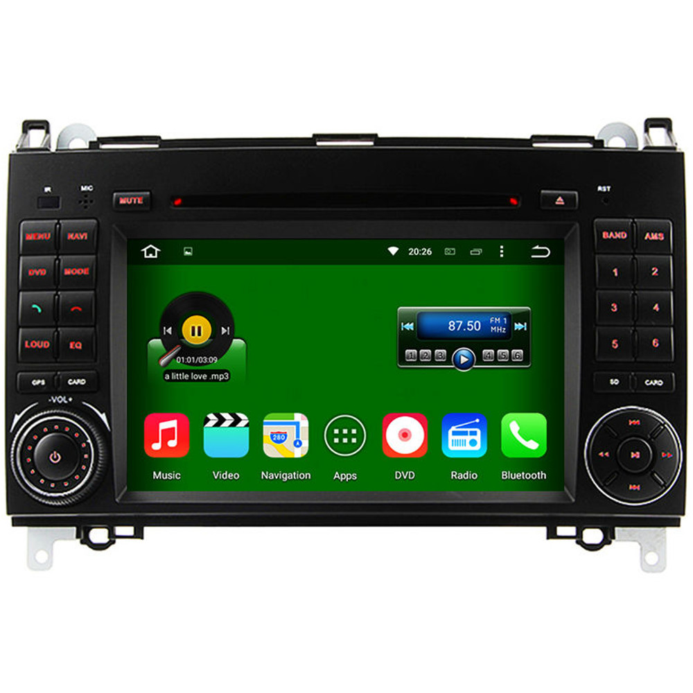 mercedes vito sprinter quad core android 5 1 radio stereo. Black Bedroom Furniture Sets. Home Design Ideas