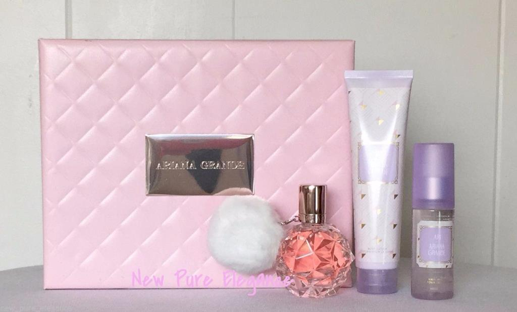 new ari by ariana grande gift set perfume spray body. Black Bedroom Furniture Sets. Home Design Ideas