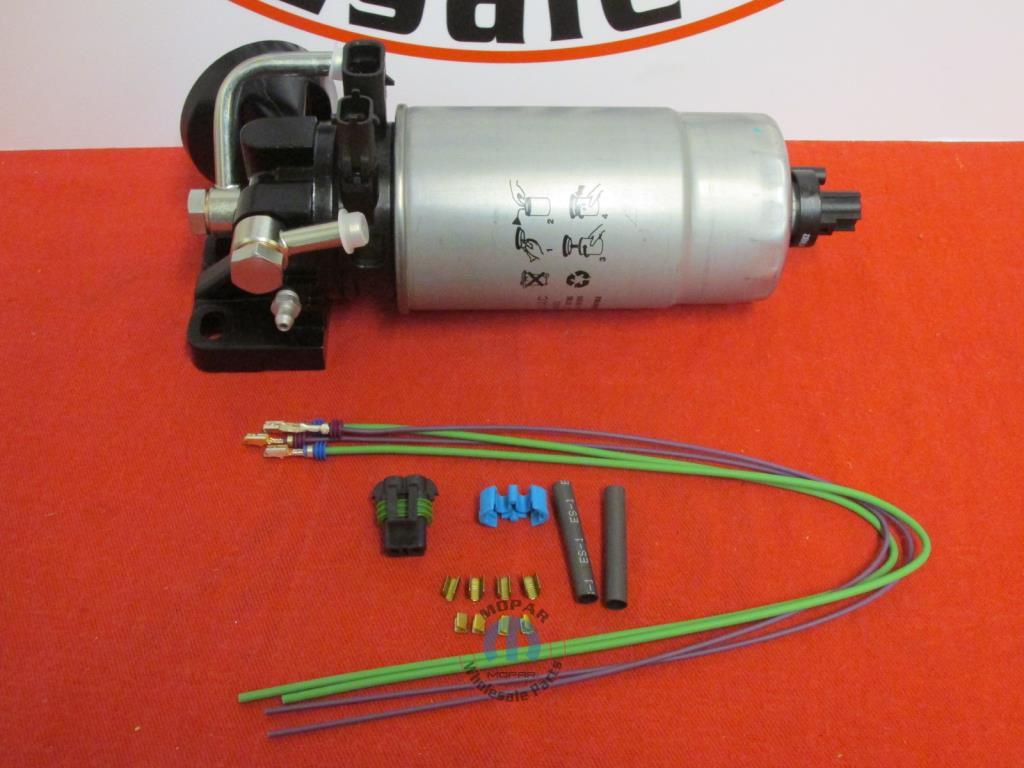 jeep liberty 2 8l fuel water separator and wiring harness kit new jeep liberty 2 8l fuel water separator and wiring harness kit new oem mopar