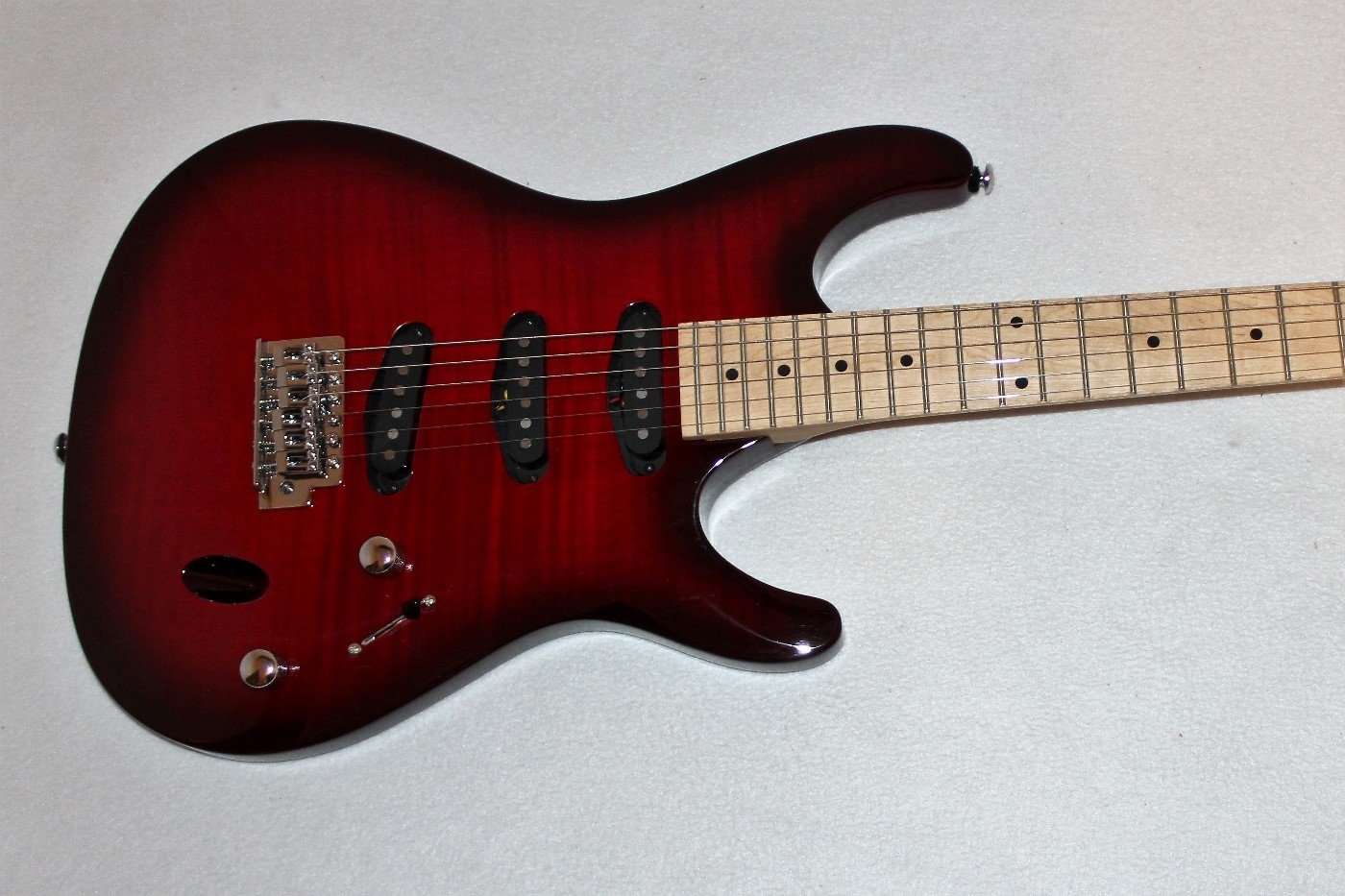 ibanez sa130mfm red electric guitar ebay. Black Bedroom Furniture Sets. Home Design Ideas