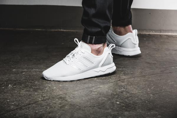 Adidas Zx Flux Adv Triple White
