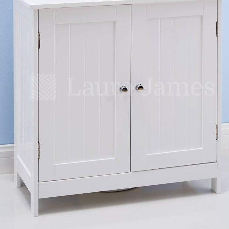 under sink bathroom cabinet storage unit cupboard white ebay