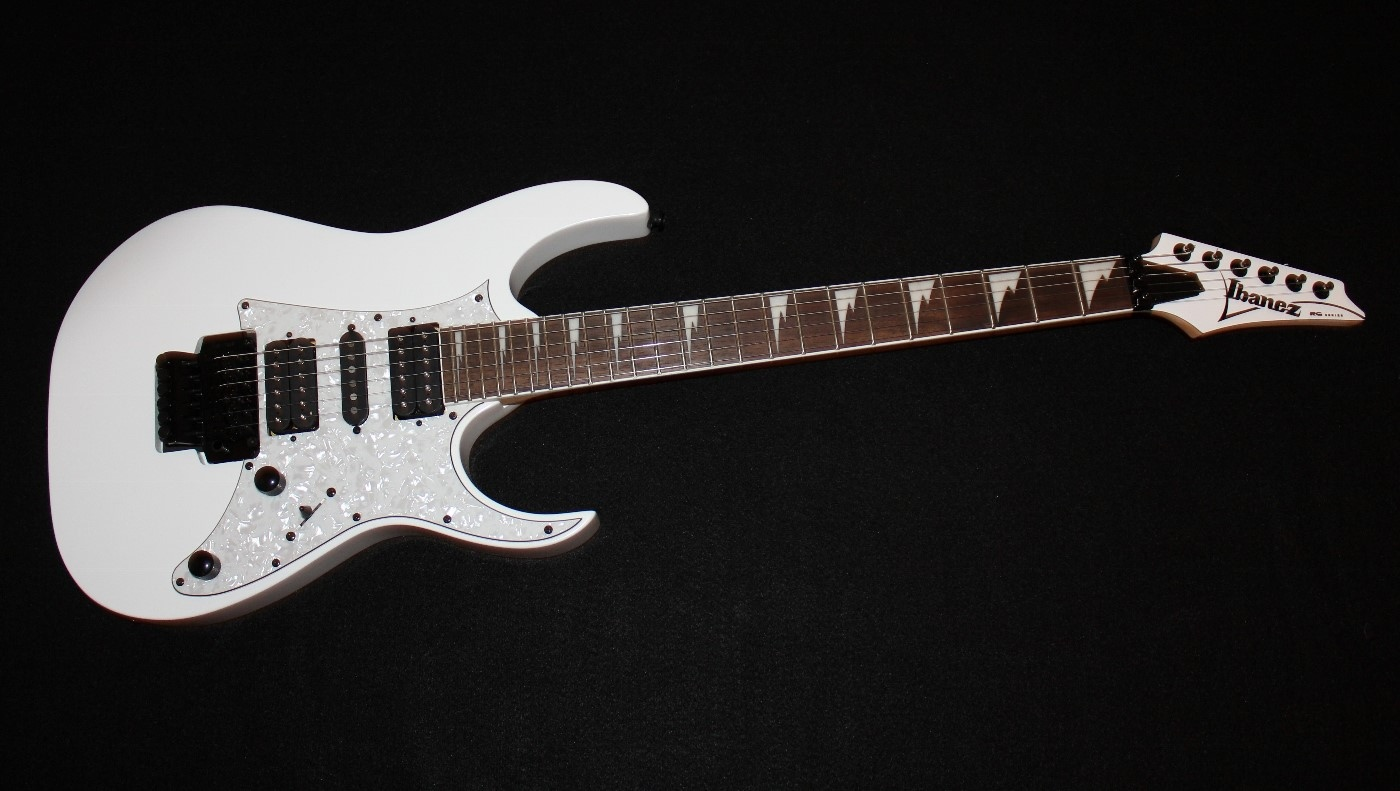 ibanez rg450dx white electric guitar 606559043811 ebay. Black Bedroom Furniture Sets. Home Design Ideas