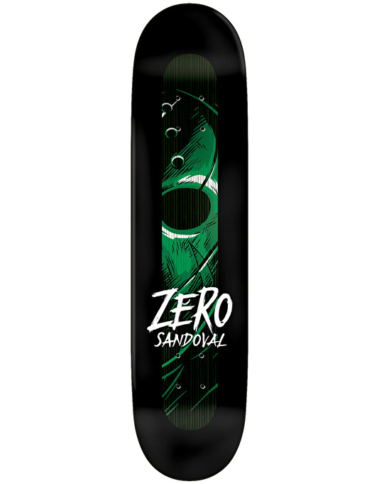 Zero Skateboard Deck Tommy Sandoval Friday Night 7.75 Impact Light FREE Post & Grip New