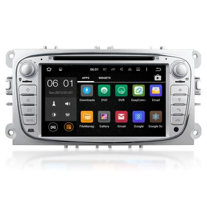 ford mondeo mk4 silver android 5 1 headunit dab radio gps. Black Bedroom Furniture Sets. Home Design Ideas