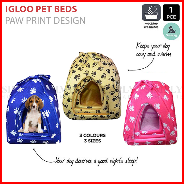 igloo pet beds