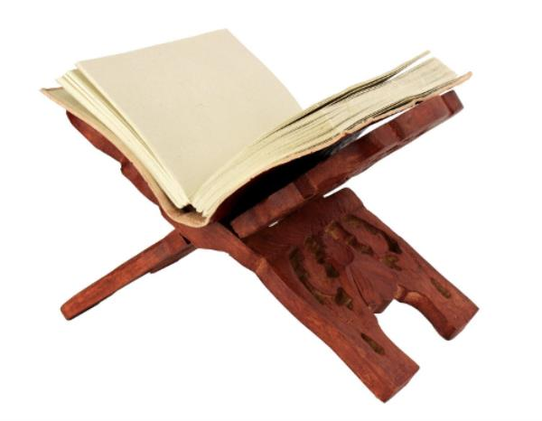 Great for supporting your books bindings and elevating them from your