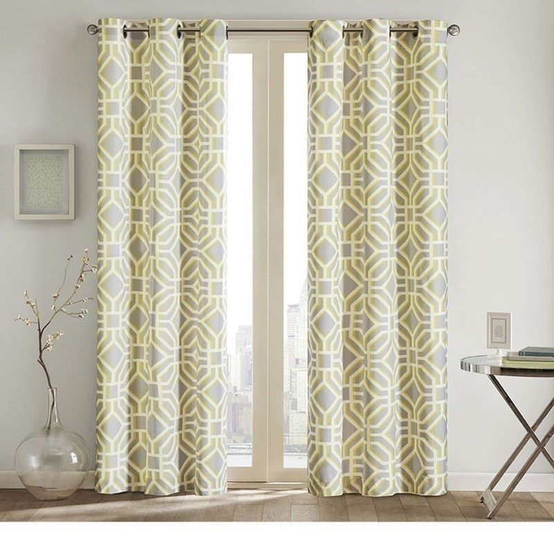 New Set 2 Curtains Panels Drapes Pair 63 84 Inch Grommet