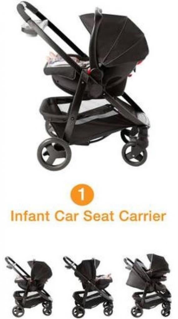 Graco Modes Click Connect Travel System BABY Car Seat ...