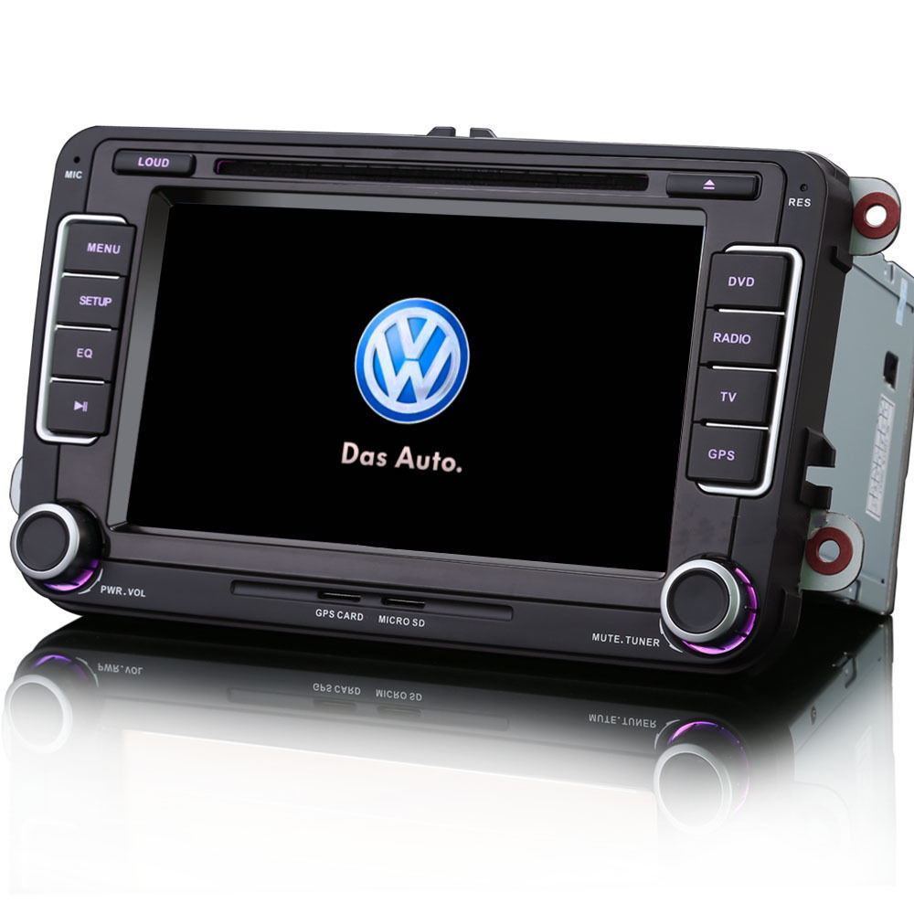 vw golf mk5 mk6 7 car radio stereo satnav bluetooth ipod usb gps rns510 style ebay. Black Bedroom Furniture Sets. Home Design Ideas