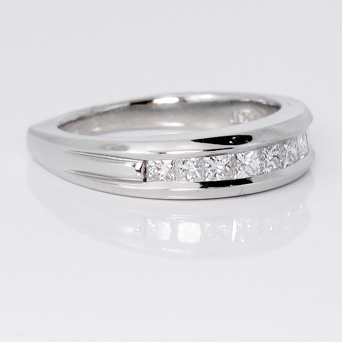 Scott Kay Platinum Diamond Wedding Band Ring