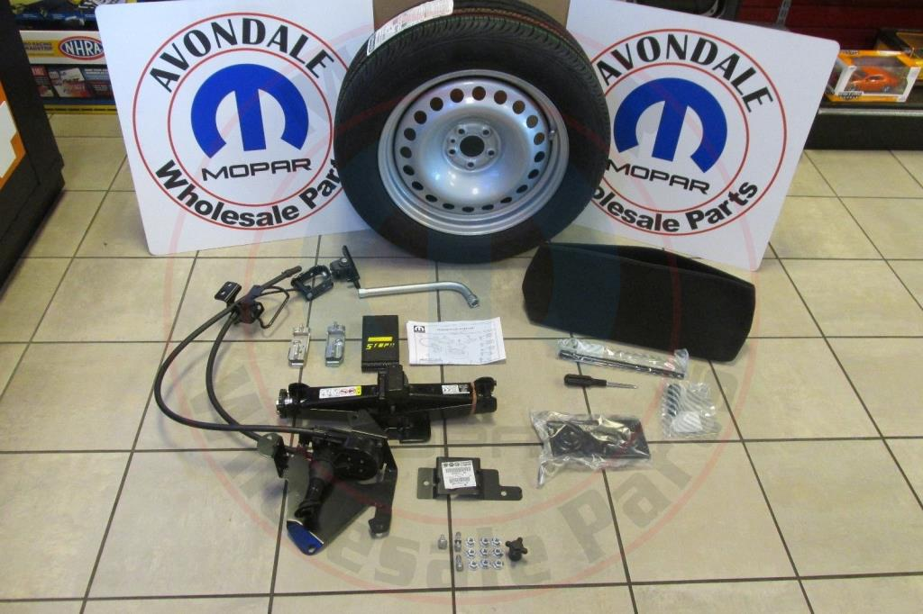 Ram Promaster City Spare Tire Wheel Kit With Roadside Jack