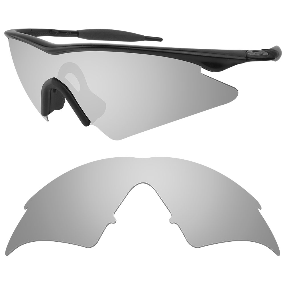 HKUCO Plus Mens Replacement Lenses For Oakley M Frame Sweep Vented - 3 pair Dm8z8