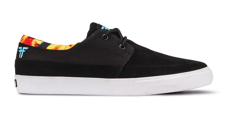 Fallen Shoes x Deathwish Roach Black Tie Dye John Dickson FREE POST New Skateboard Sneakers