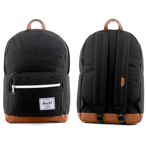 Herschel Supply Co Backpack Black Pop Quiz New Stylish Skate School New Bag FREE POST