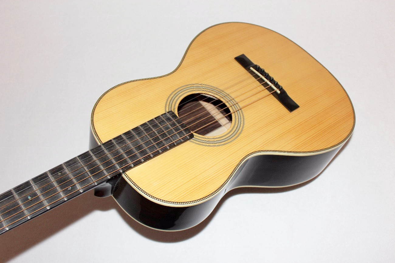 recording king rp1 327 v neck adirondack spruce top acoustic guitar. Black Bedroom Furniture Sets. Home Design Ideas