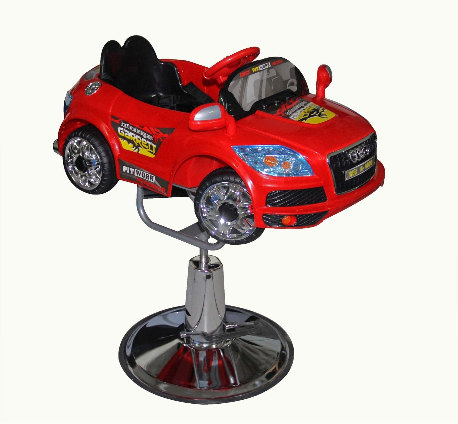 childrens car styling hairdressing salon cutting chair toddler
