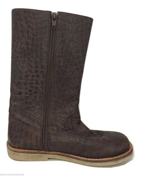 Elephantito Girls Pampa Leather Brown Boots - Size 13 - New | eBay