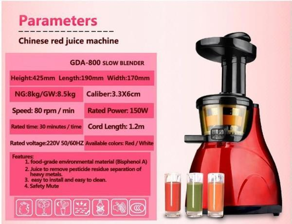 Meyou Slow Juicer Groupon : MEYOU Slow Juicer Extractor eBay