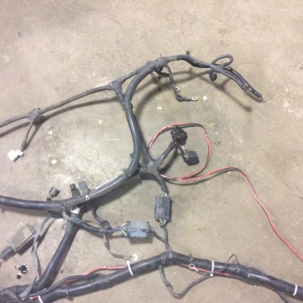 jeep wrangler engine wiring harness  2004 jeep wrangler tj 2 4 4 cyl underhood engine wiring harness on 2004 jeep