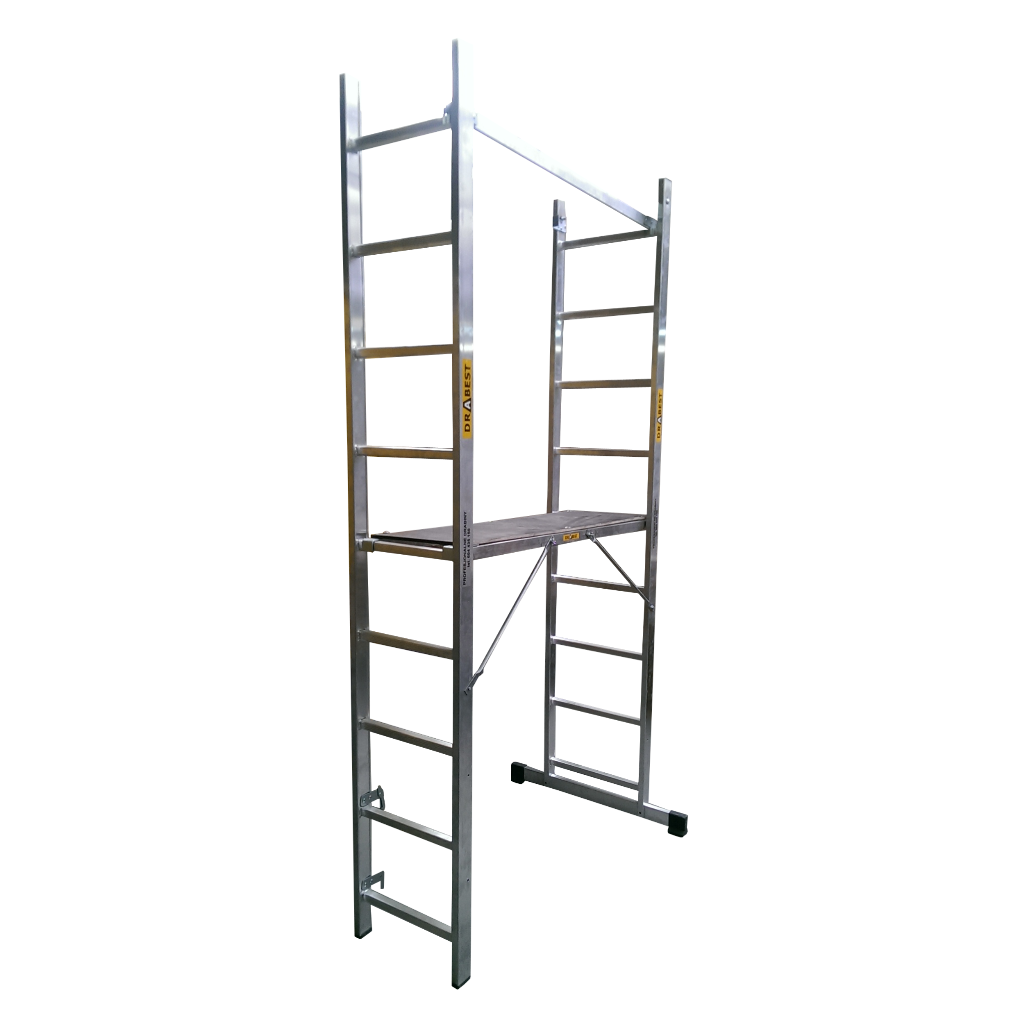 Ladder Scaffold System : Drabest way multi purpose scaffold platform ladder