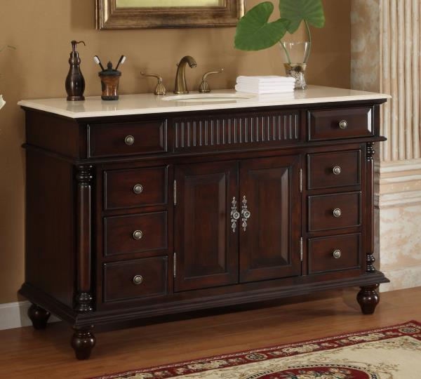 Large Single Sink Vanity : 53