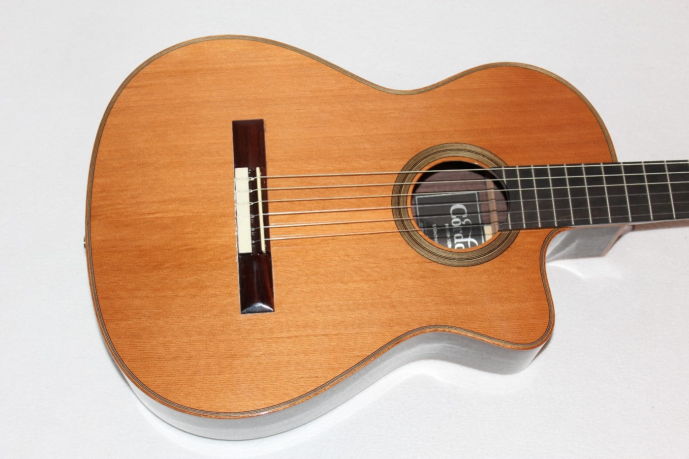 cordoba fusion orchestra ce cd in acoustic electric classical guitar w bag ebay. Black Bedroom Furniture Sets. Home Design Ideas