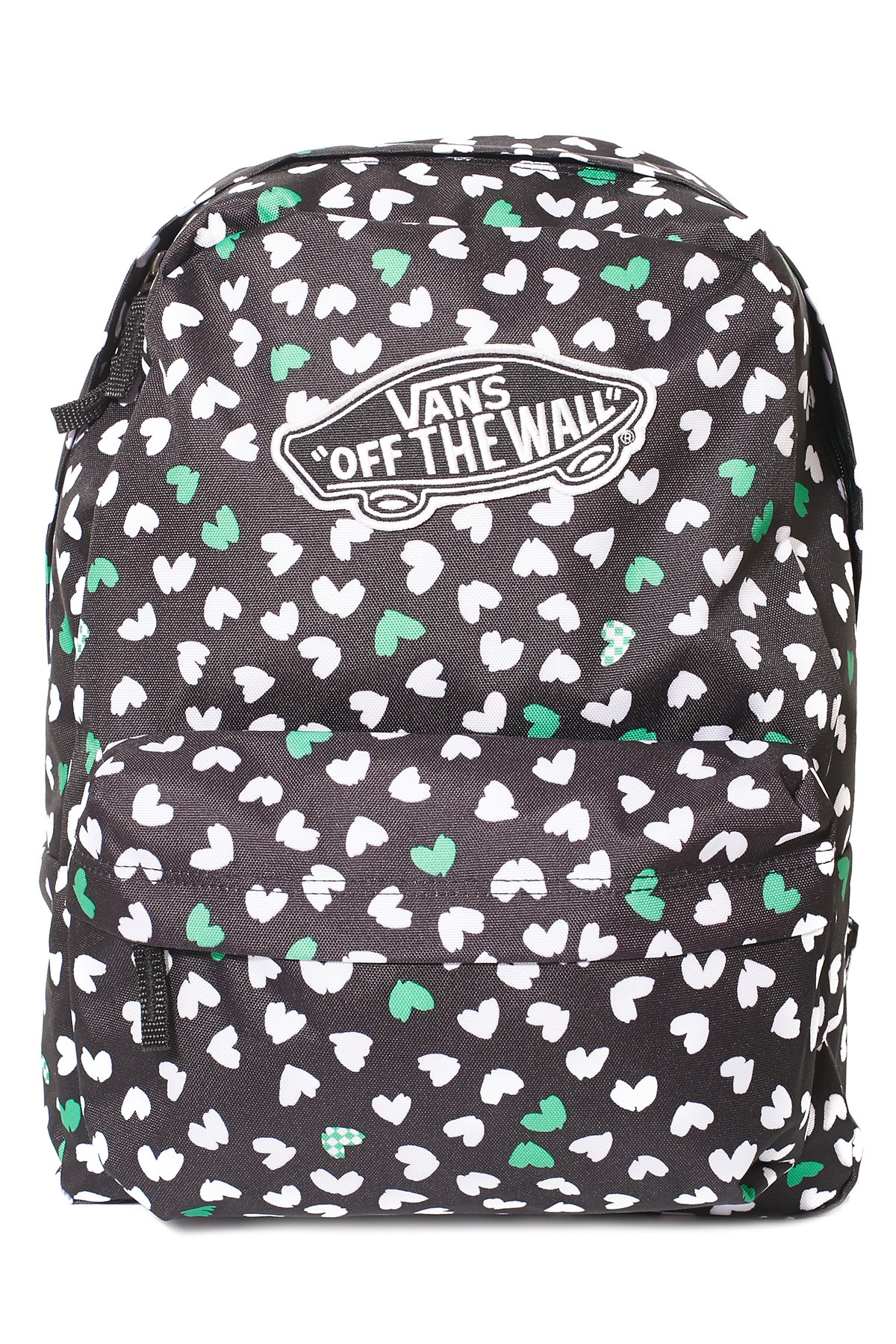Vans Realm Backpack Black Kelly Green FREE POST Skate Surf School Bag