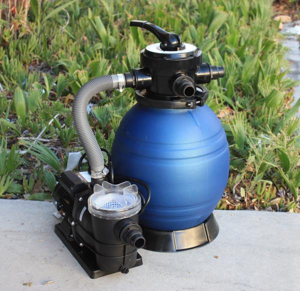 How do i hook up my pool filter and pump