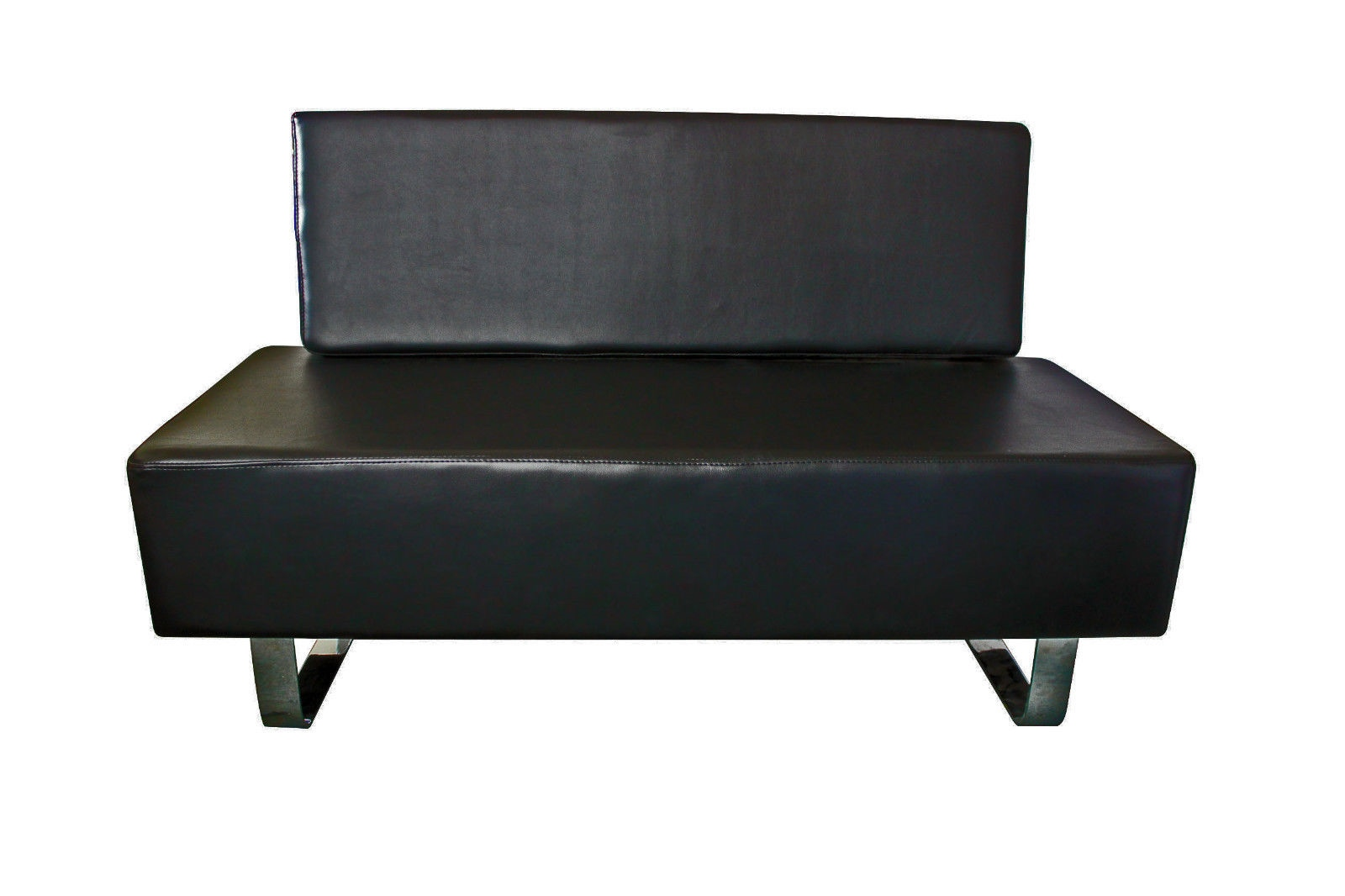 Salon Medical Beautytattoo Reception Black Waiting Chair Furniture Sofa Ebay