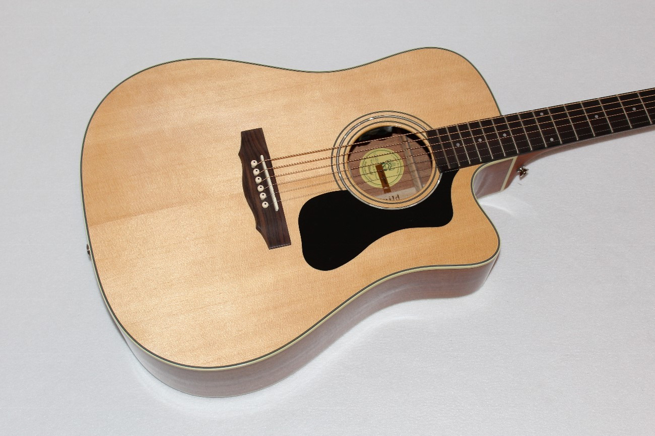 Guild D 140ce All Solid Wood Acoustic Electric Guitar W