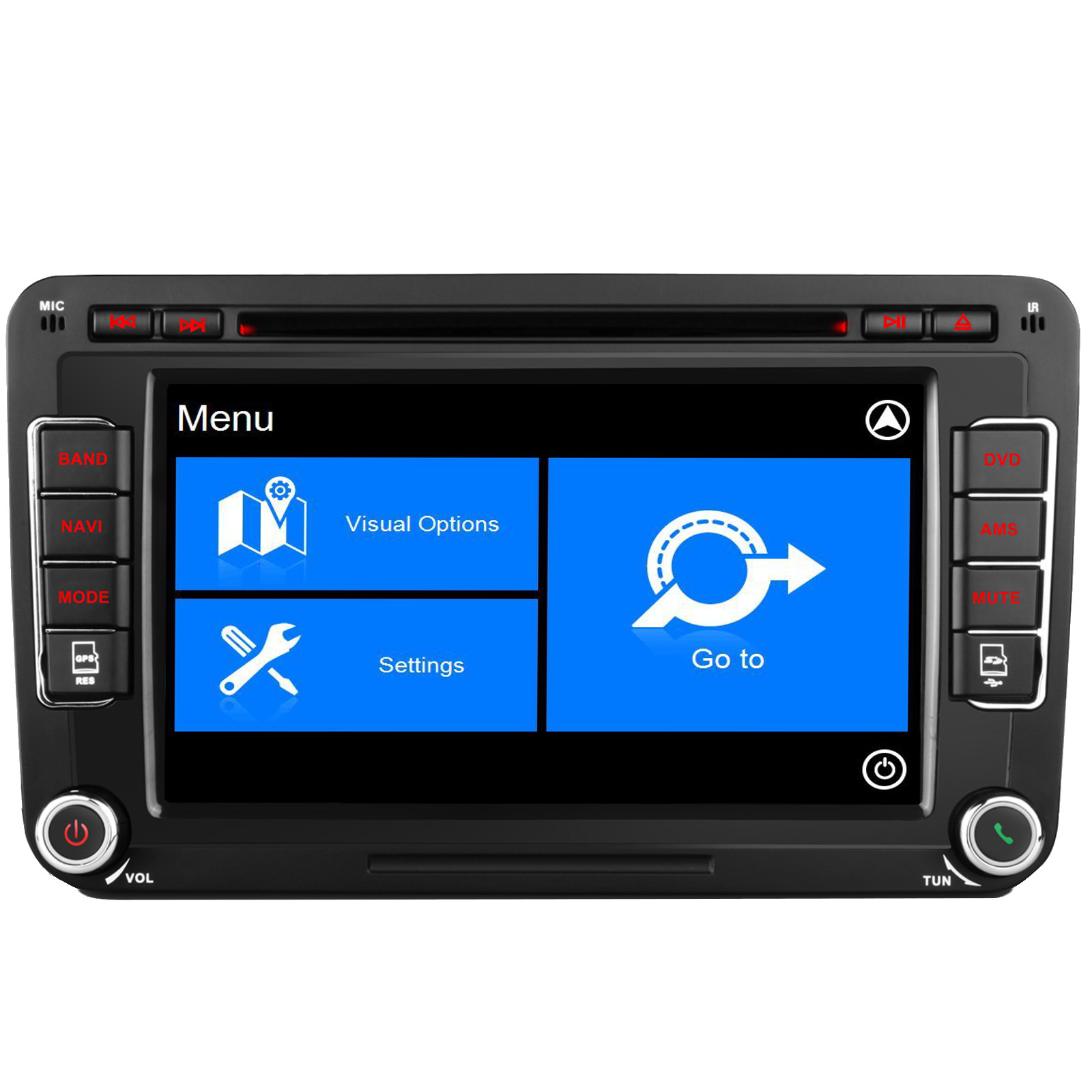 vw caddy transporter t5 dab radio head unit stereo kudos. Black Bedroom Furniture Sets. Home Design Ideas