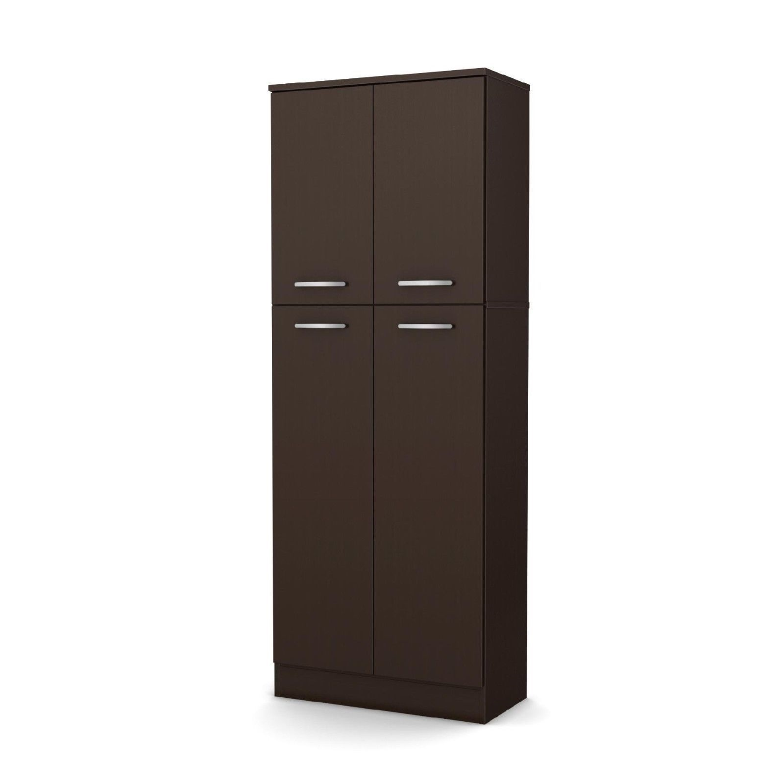 New Pantry Storage Cabinet Shelving Laundry Room Closet