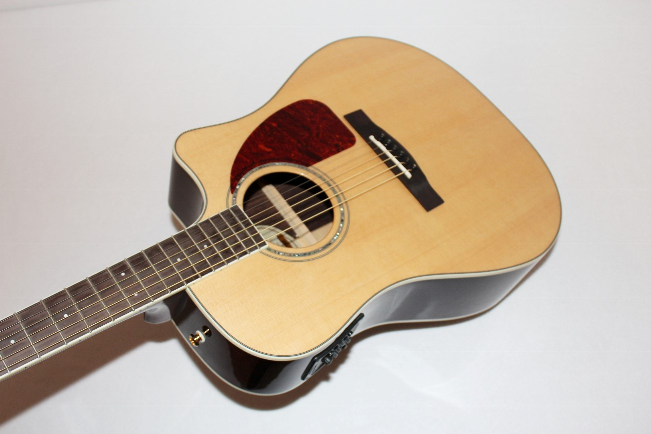 fender cd320 asce dreadnought cutaway acoustic electric guitar ebay. Black Bedroom Furniture Sets. Home Design Ideas