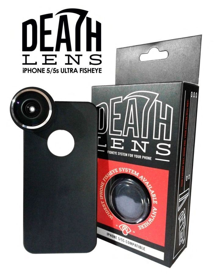 Death Lens Ultra Fisheye IPHONE SE / 5 / 5s Deathlens Skateboard Camera FREE POST