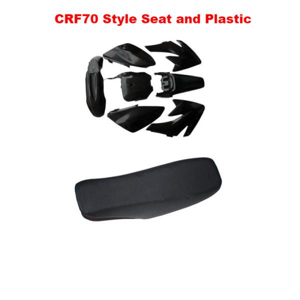 Cool Details About Black Plastic Kit Gripper Tall Seat Cover Assembly Fit Honda Crf70 Crf 70 Creativecarmelina Interior Chair Design Creativecarmelinacom