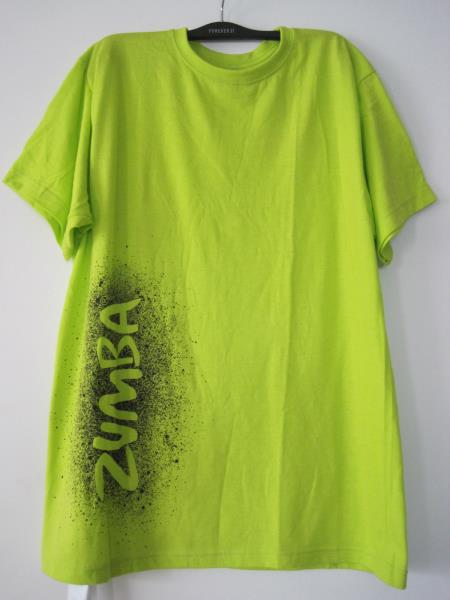 zumba feel the music unisex tee shirts t shirt one size. Black Bedroom Furniture Sets. Home Design Ideas