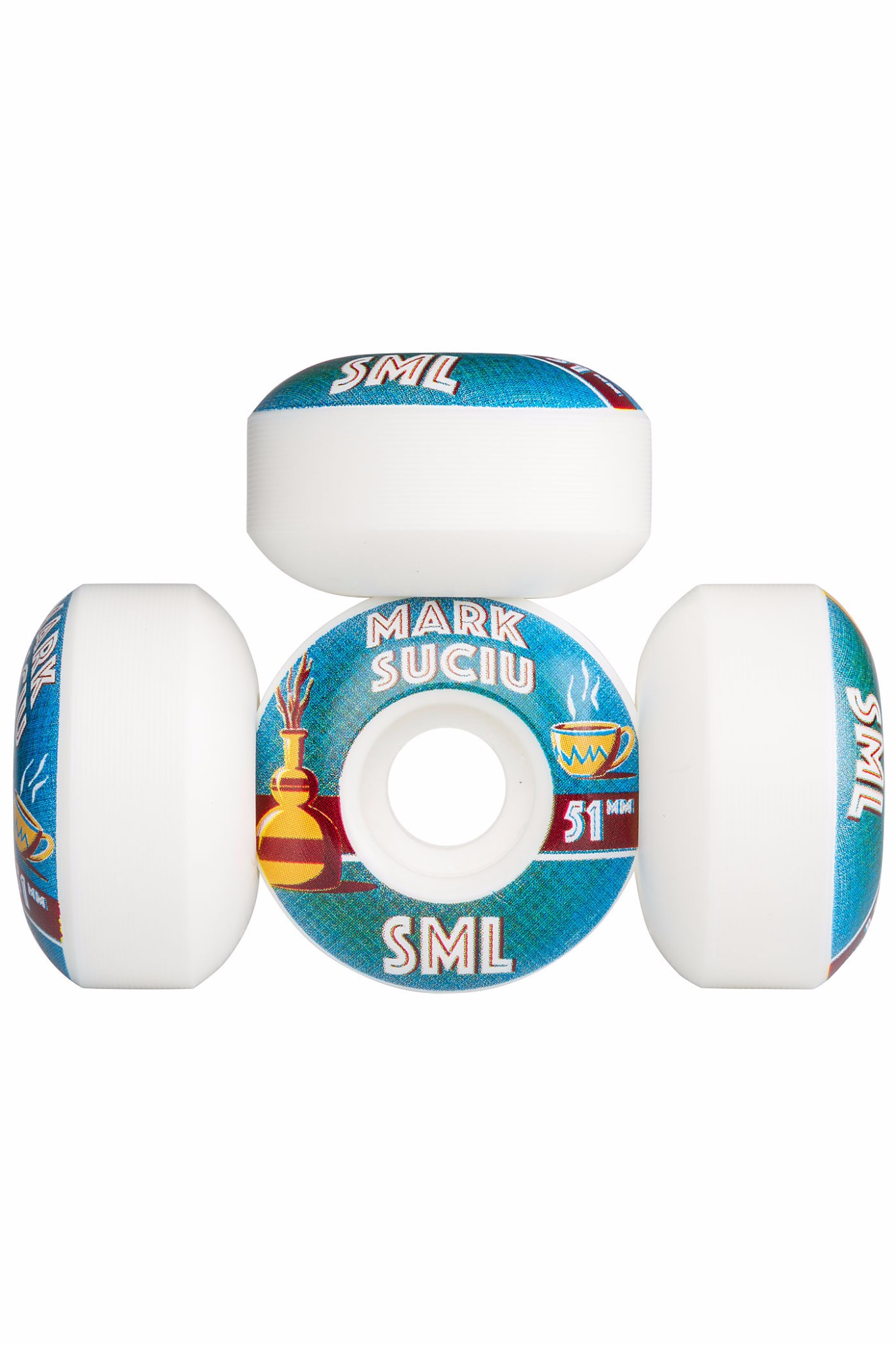 SML Skateboard Wheels Suciu Donta 51mm 99a OG Wide RRP 60 FREE POST