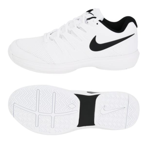 7935bcaddcc Nike Men Air Zoom Prestige HC Shoes Training White Sneakers GYM Shoe ...