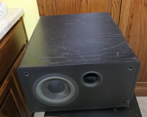 Details about Mirage BPS-100 High Current 100W Mosfet Powered Amplifier  Subwoofer