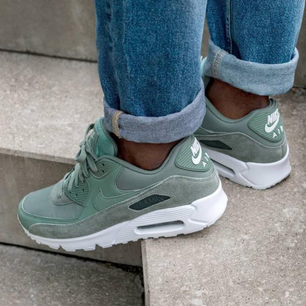 premium selection 2e478 112a9 Details about Nike Air Max 90 essential Clay Green Size US 7- 13 men  sneakers 2018