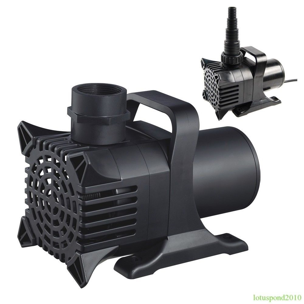 Fish pond pump water fountain waterfall pump 800 10 000 for Submersible pond pump and filter