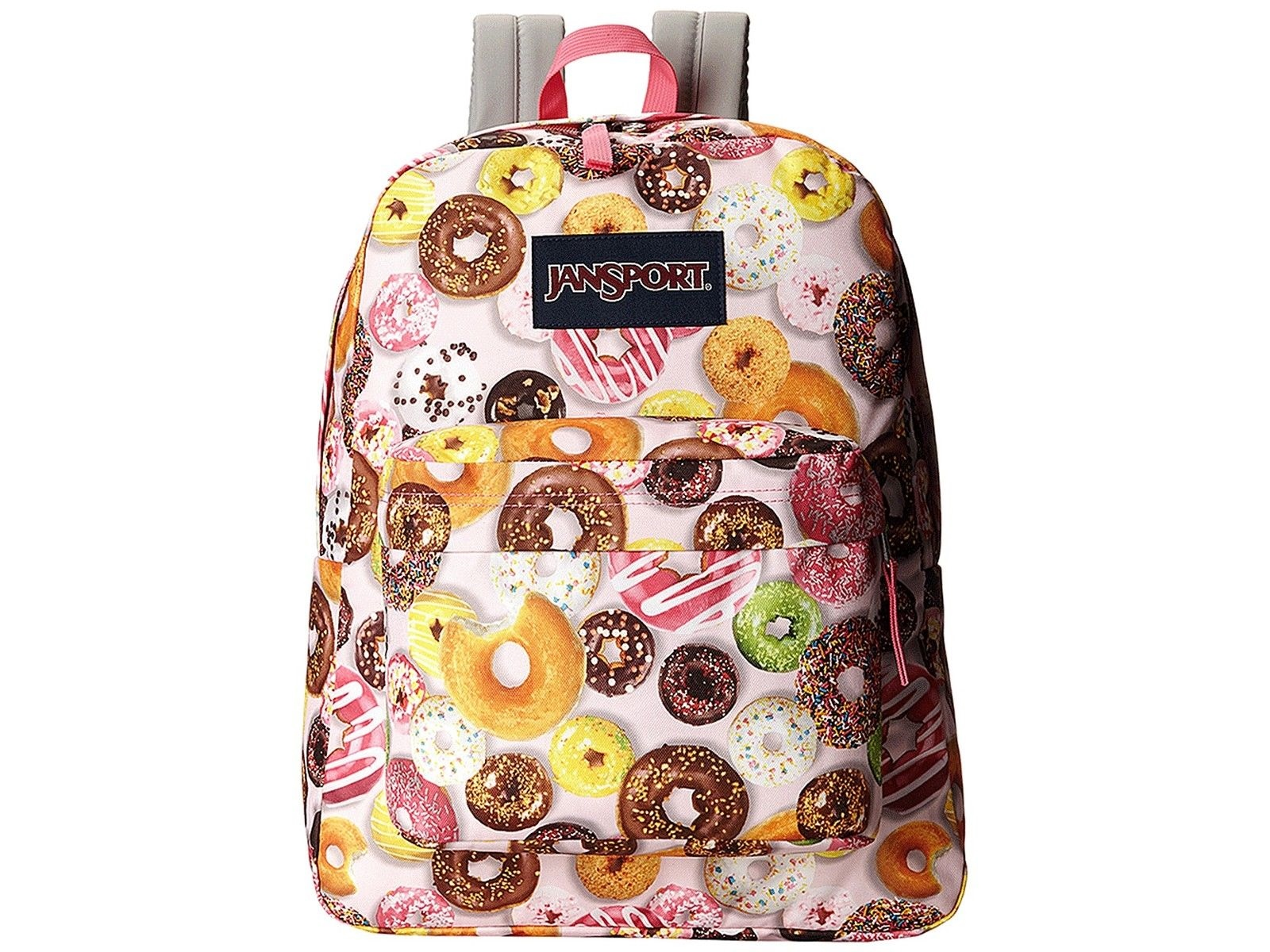 Jansport Backpack Superbreak Donuts Skate School Travel Bag FREE POST
