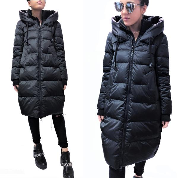 finest selection a6e72 35079 Details about GUSTO ITALY TOP QUALITY DOWN OVERSIZE LONG PARKA COAT JACKET  Giaccone Piumino